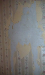 Layer upon layer of wallpaper HELL.